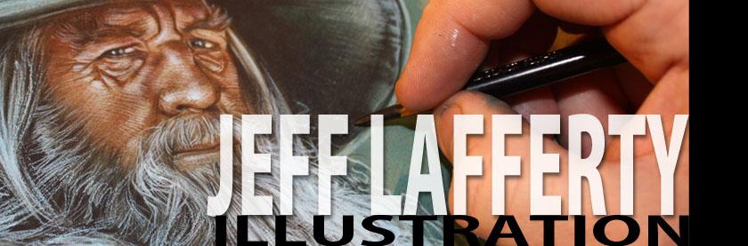 JEFF LAFFERTY - ORIGINAL MOVIE ART