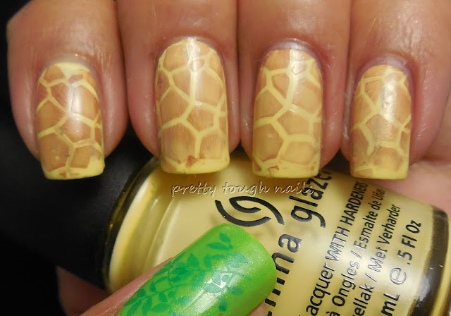 #31DC2013 Animal Print Giraffe Nails