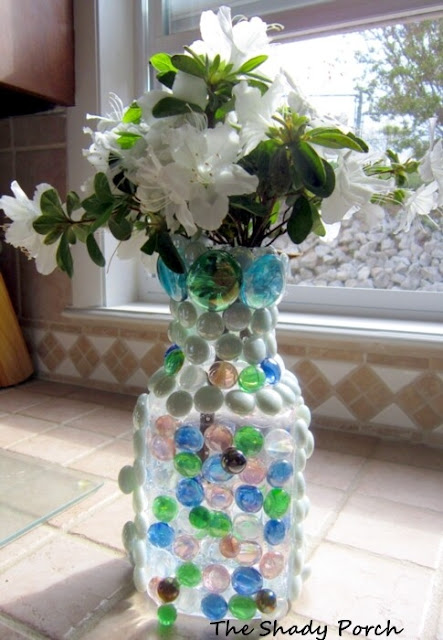 DIY Suncatcher Vase - Earth Day Challenge