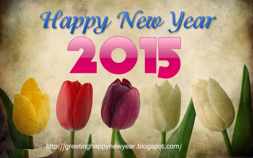 Latest Beautiful Happy New Year Wishes 2015 – Wishing Images For Roses