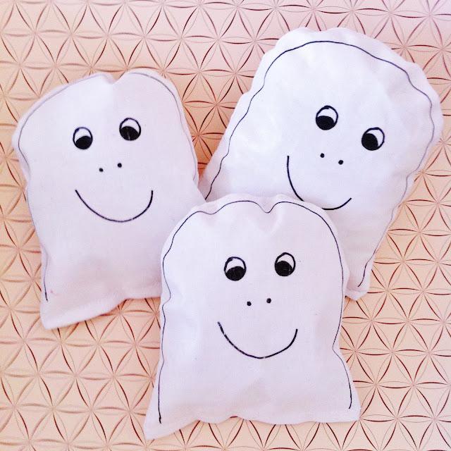 DIY cuddly ghost - Suus Geniet