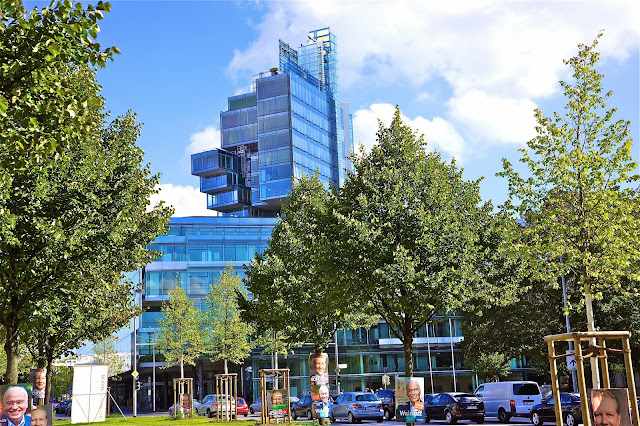 Image of Norddeutsche Landesbank headquarters in Hanover, Germany