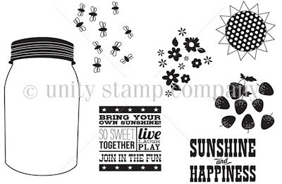 Jar of Sunshine Unity Stamp Company