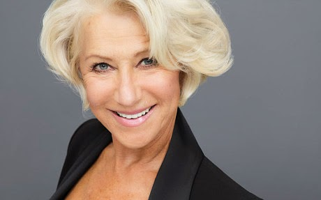 Morgan's Milieu | Liberate Us From Sexy: A photo of the actress Helen Mirren.