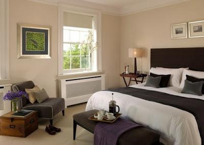 diseño de dormitorio inglés