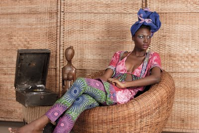 Click here to see the rest of the House of Makeda collection