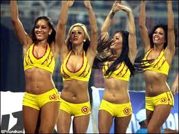 Chennai Superkings Cheerleaders