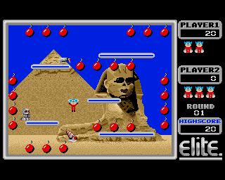 Bombjack Visits Egypt - Amiga