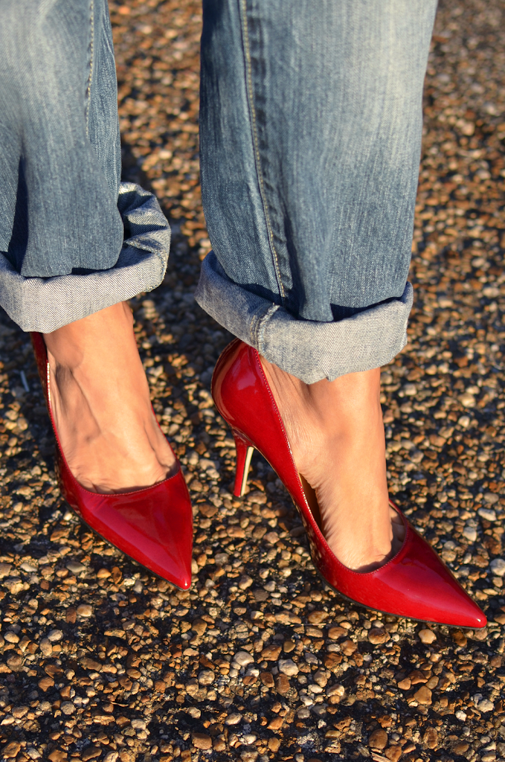 Kate Spade Red Pumps