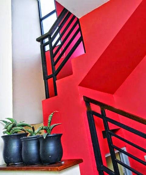 Warna Tangga Rumah Minimalis 2 Lantai