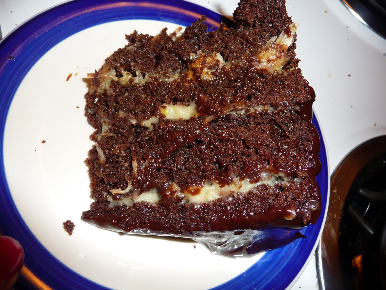 The World Tasters: German Chocolate Cake with Coconut ...