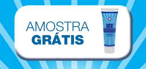 Amostra Gratis Gel Ice Power