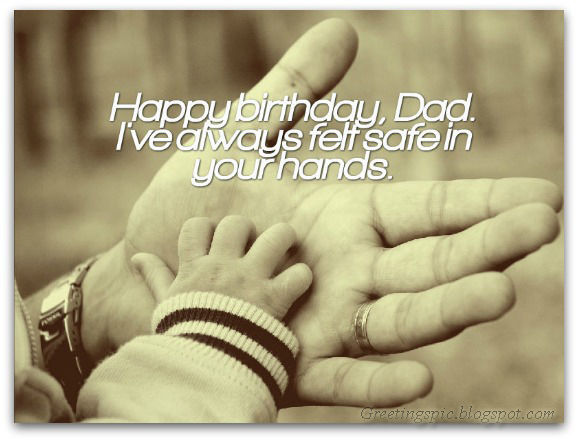 Father birthday wishes photos