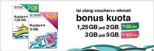 bonus kuota++ 5GB tri