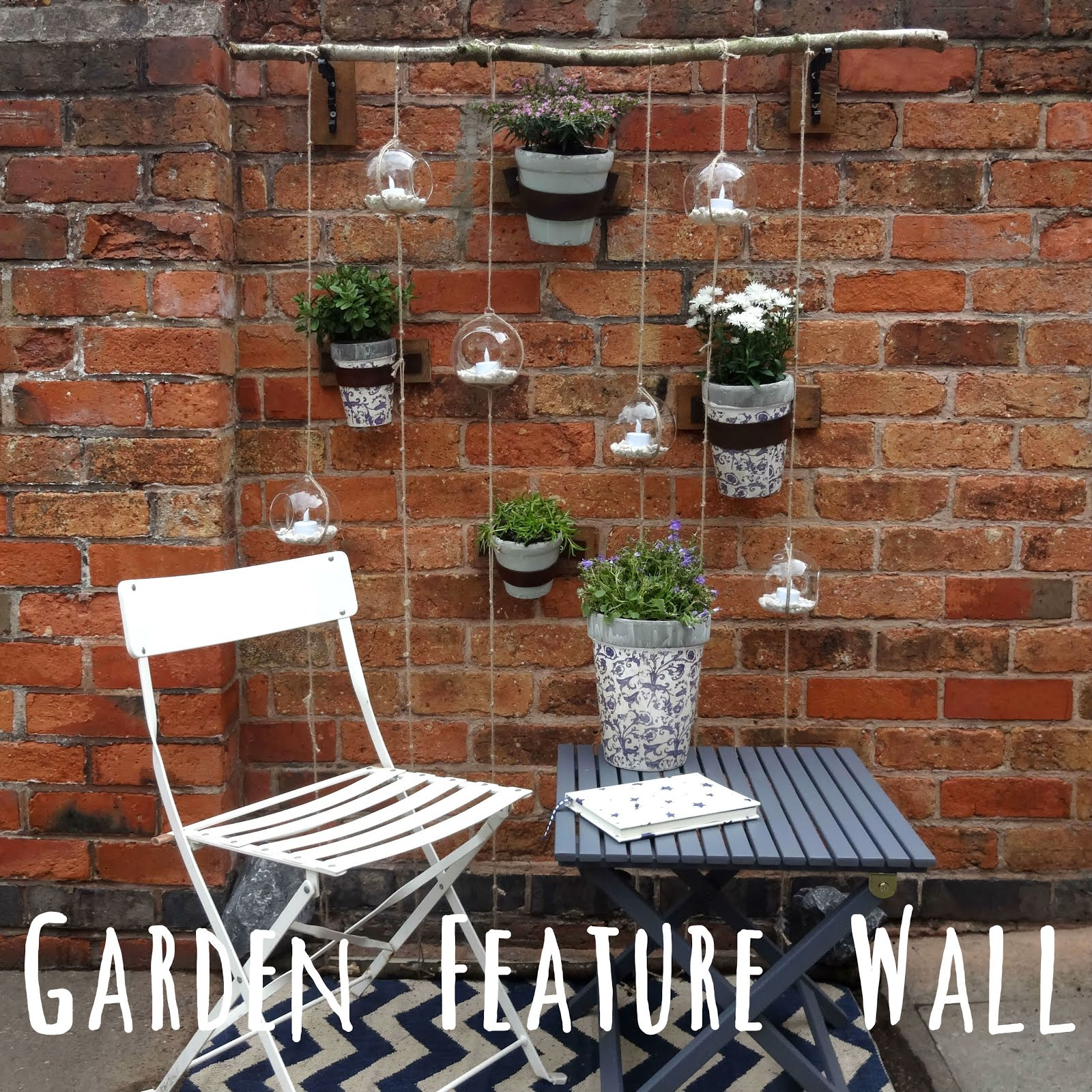 DIY: Feature Garden Wall