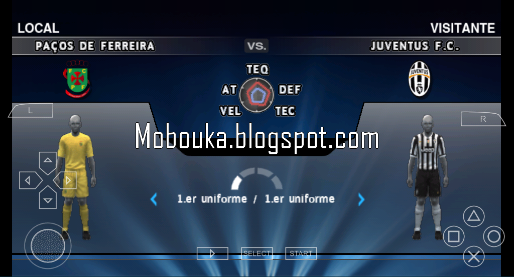 pes 2014 android : juventus champions league