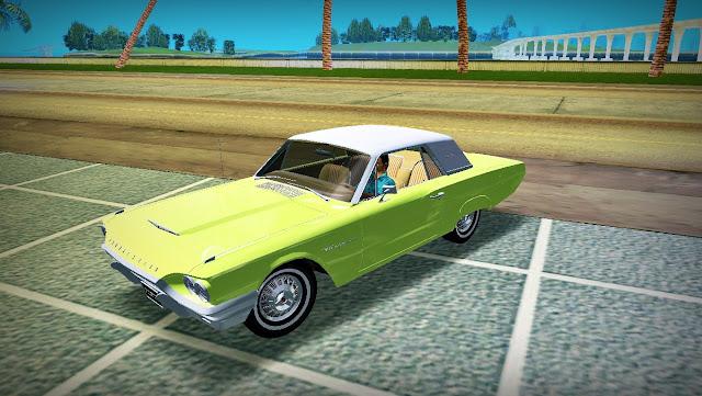 Ford Thunderbird 1964 GTA Vice City