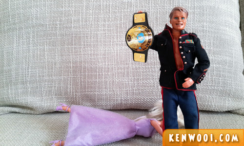 barbie and ken fight