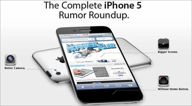 Retina Display 4.6 inch on the iPhone 5