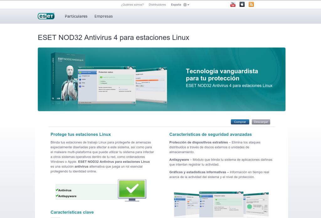 Antivirus En Gnu Linux Eset Nod32 Linux En Taringa