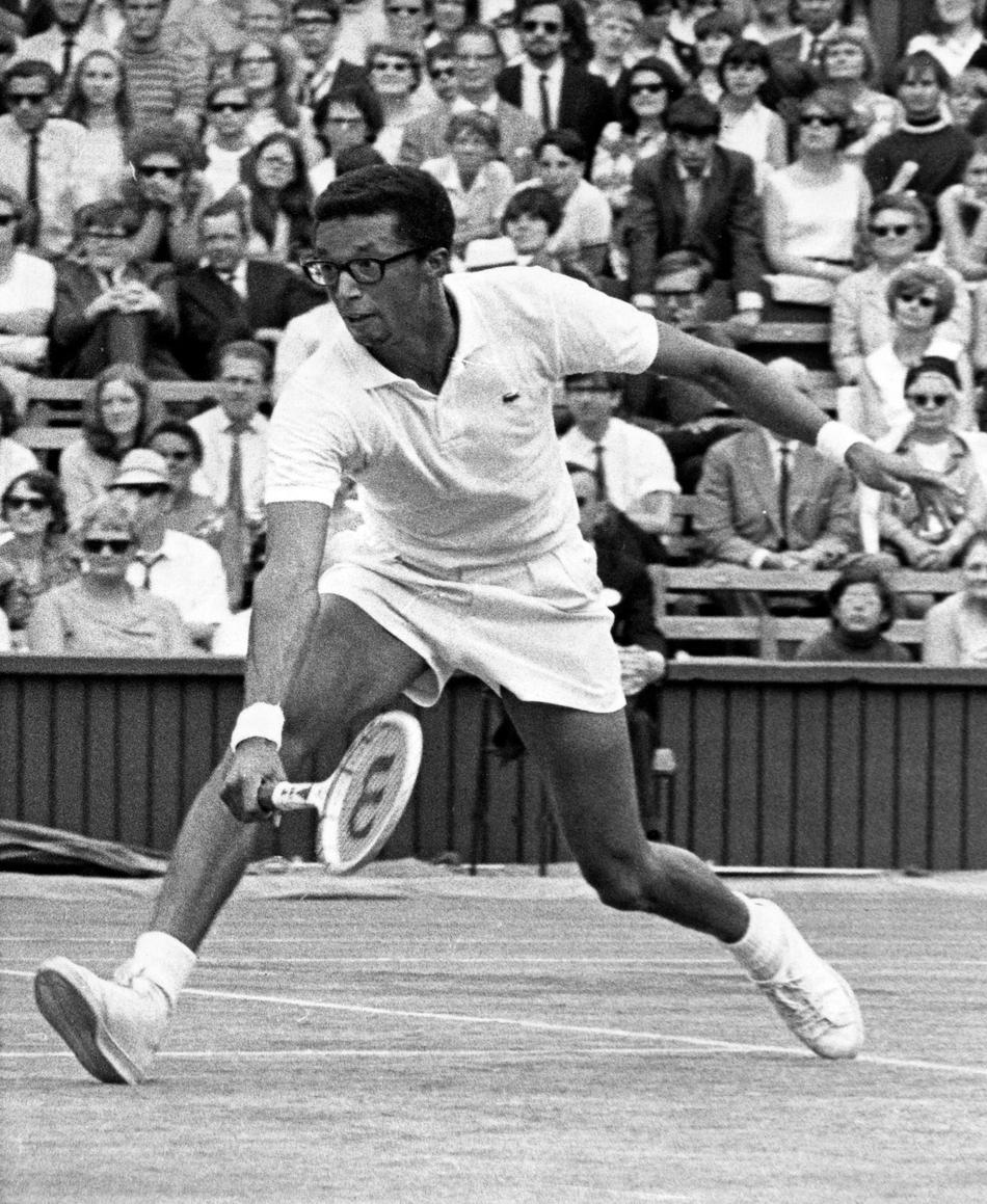 arthur ashe a tennis player