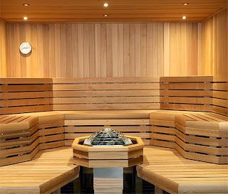 Phòng xông hơi massage cho spa