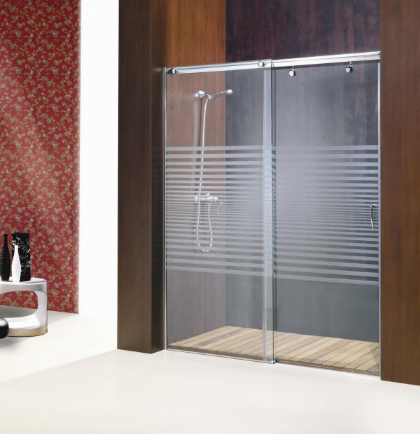 Vidrialuminios la frontera - Mamparas de vidrio para duchas ...