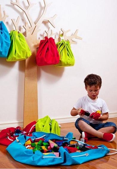 Dejuguetes como hacer el bolso organizador juguetero - Organizador de juguetes ...