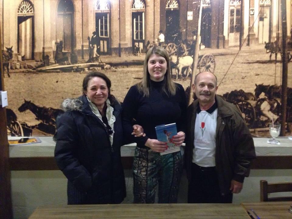 Lú Ianzer, Melissa Macedo e Manoel Ianzer
