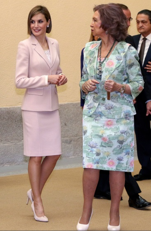 Spanish Royals Attends 'Queen Sofia Awards' At El Pardo Palace