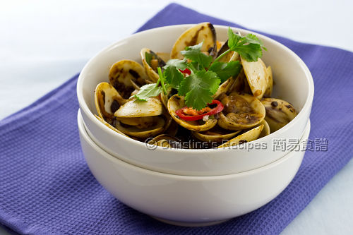 豉椒炒蜆 Stir-Fried Clams with Black Bean Sauce02