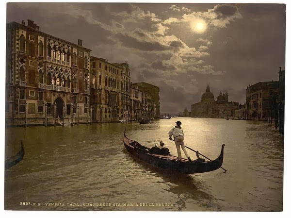 Старинные фото Венеции