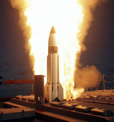 Raytheon SM-3 Missle Launch