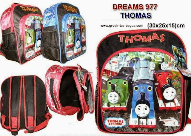 Tas Ransel Sekolah Anak TK - PAUD - SD Murah dan Bagus Dreams 977 Thomas