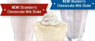 Denny's Buy One Get One Free Milkshake Dessert