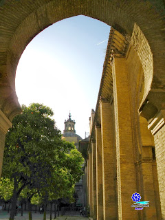 Sevilla - Cúpula de la Iglesia del Sagrario desde el Patio de Naranjos de la Catedral
