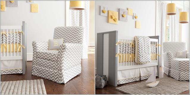 DECO CHAMBRE INTERIEUR: Concevez votre maison en jaune et gris!