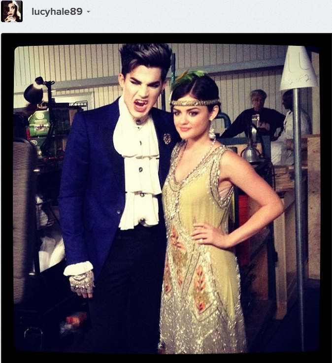 less than 12 hours pll halloween episode with the very cool adamlambert httpinstagramprifx__wuu6 - Halloween Episodes Of Pretty Little Liars