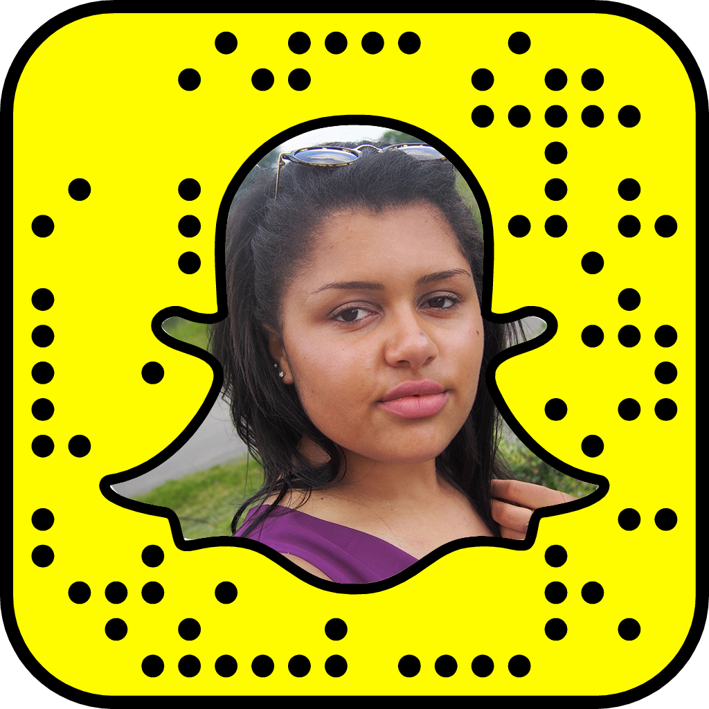 Click/Scan to add me on Snapchat!