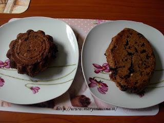 torta nocciole e cioccolato ed un confronto ceramica vs. silicone