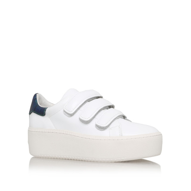 ash velcro trainers, ash white strap trainers, ash flat trainers,