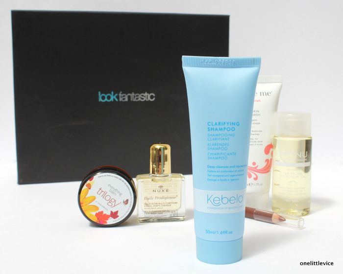 one little vice beauty blog: Look Fantastic July Beauty Box Contents
