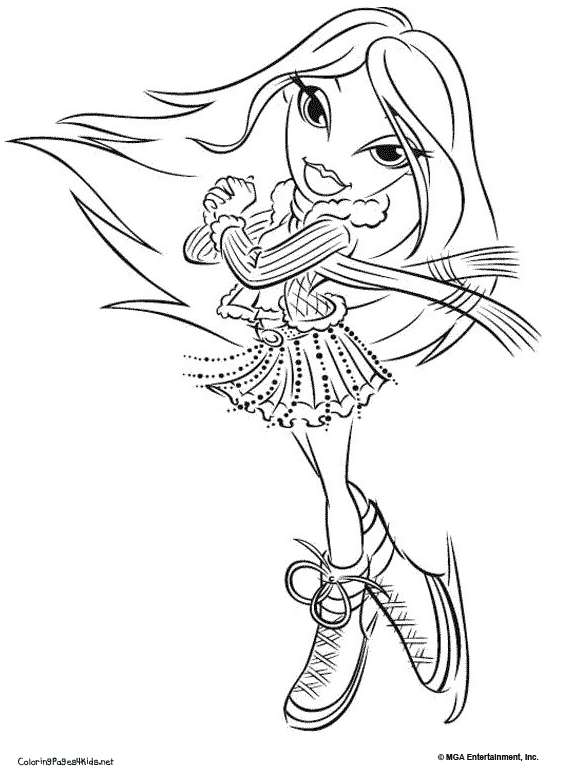 Bratz Coloring Pages Lets Coloring