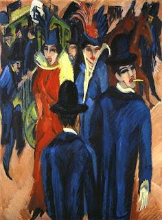 Kirchner, Scène de rue berlinoise, 1913