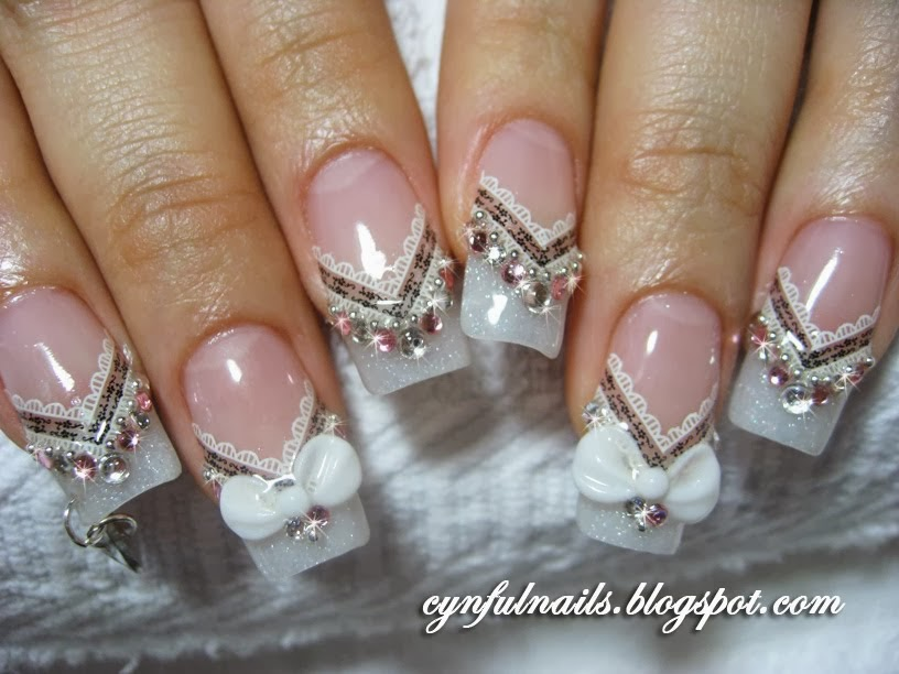 Fashionable nail art ideas creative concepts bride nail designs creative concepts bride nail designs pictures prinsesfo Images