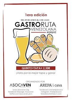GastroRuta Venezolana #GRUVE