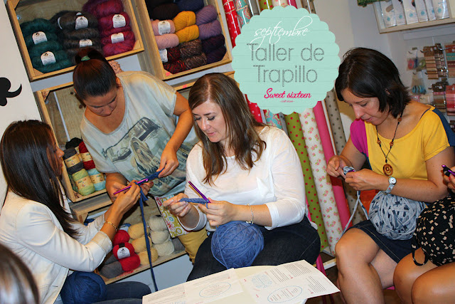 Taller TRAPILLO Sweet sixteen craft store, Madrid