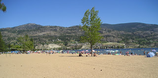 Skaha Beach in Penticton BC