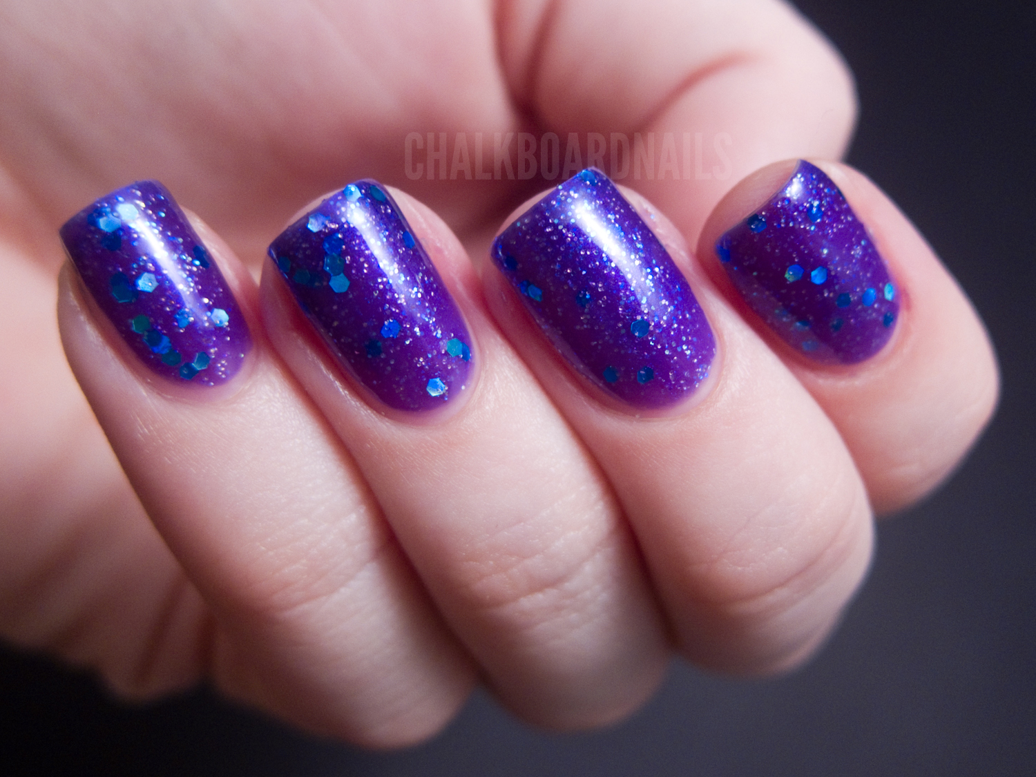 Lush Lacquer: Bubble Yummy, Glam Girl, and Sea Breeze | Chalkboard ...