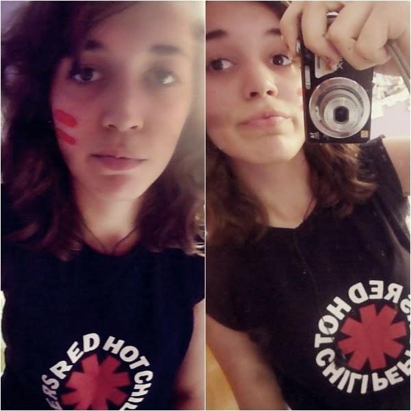 camiseta RHCP